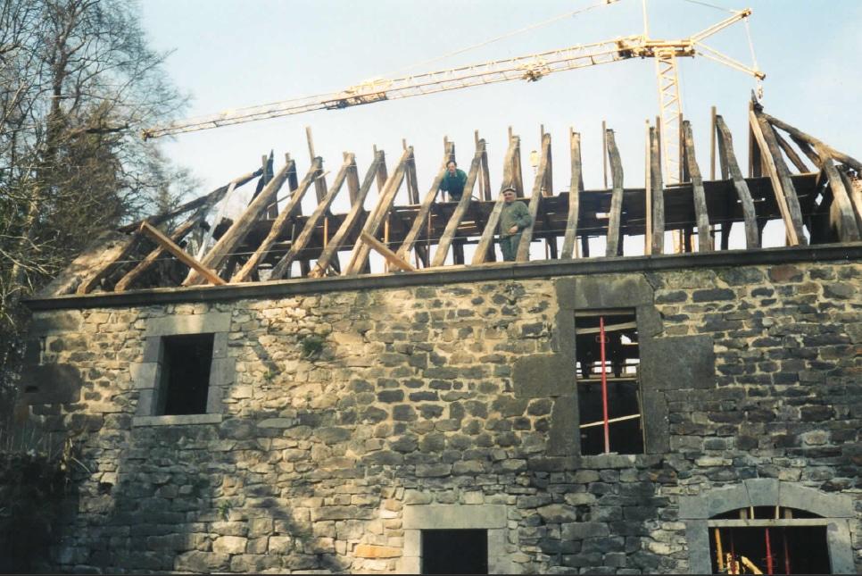 Rénovation de l'ancien moulin