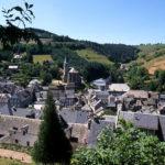 Village de Chaudes Aigues dans le Cantal