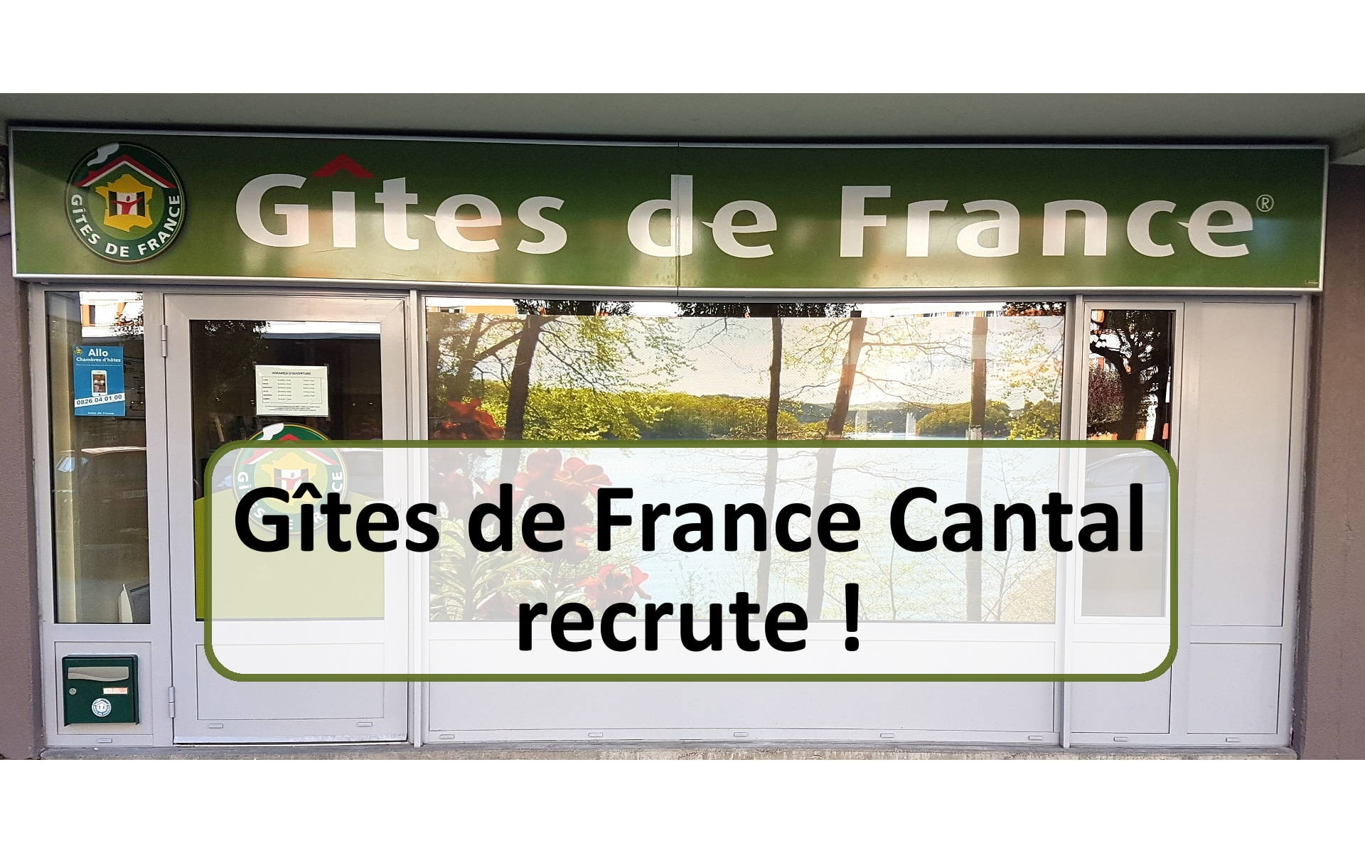 Gîtes de France Cantal recrute !
