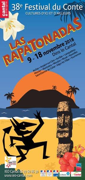 Affiche du festival Rapatondas 2018